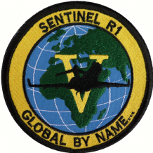No. V (5) (AC) Squadron RAF Raytheon Sentinel Groundcrew Global By Name Embroidered Patch